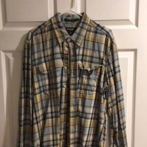 Eddie Bauer men's button down shirt
